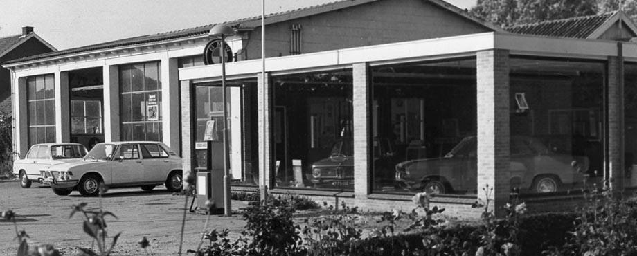 Showroom jaren '70